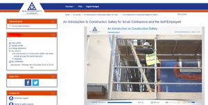 HSA launches Online Construction Safety course for Small Contractors and the Self-Employed