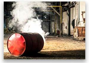 Safety Alert - Hot work on small drums, barrels, tanks and containers